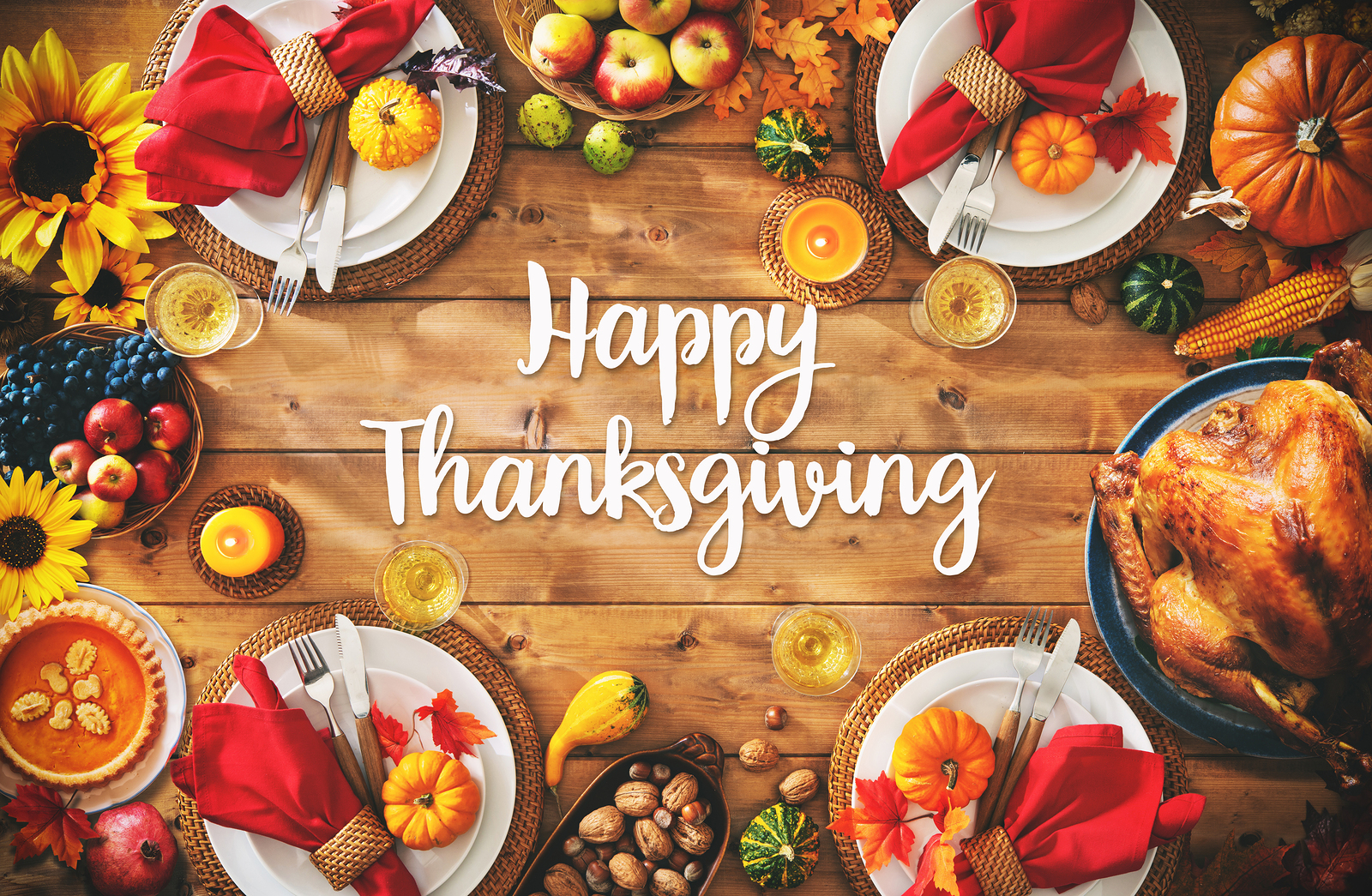 Come enjoy Thanksgiving Day dinner with us!